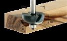 Фреза для изготовления желобка HW S8 D28,7/R8 KL Festool
