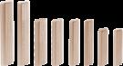 Дюбель Domino, комплект Бук/8x80/190   Festool