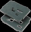 Комплект вкладышей из губки, 2 слоя SYS-VARI  RM TL Festool