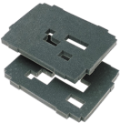 Комплект вкладышей из губки, 2 слоя SYS-VARI RM Festool